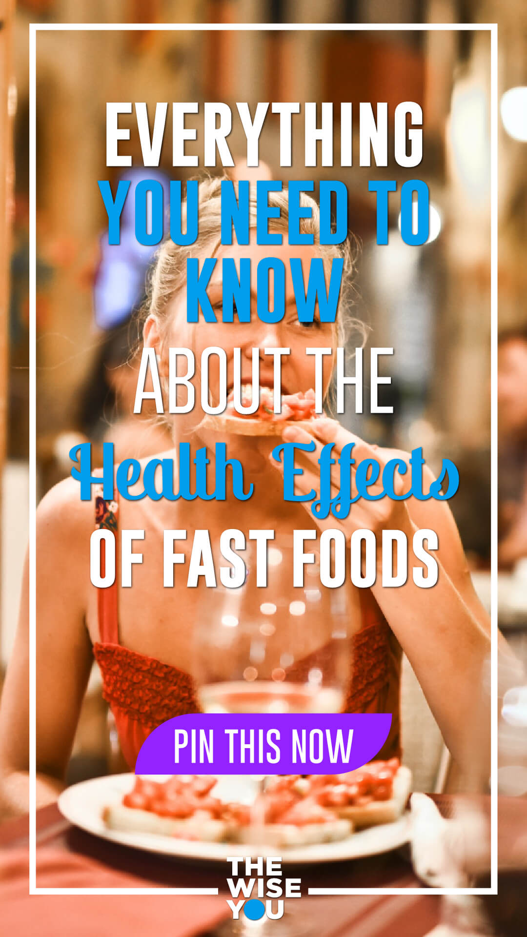 Fast Foods Affect Your Health