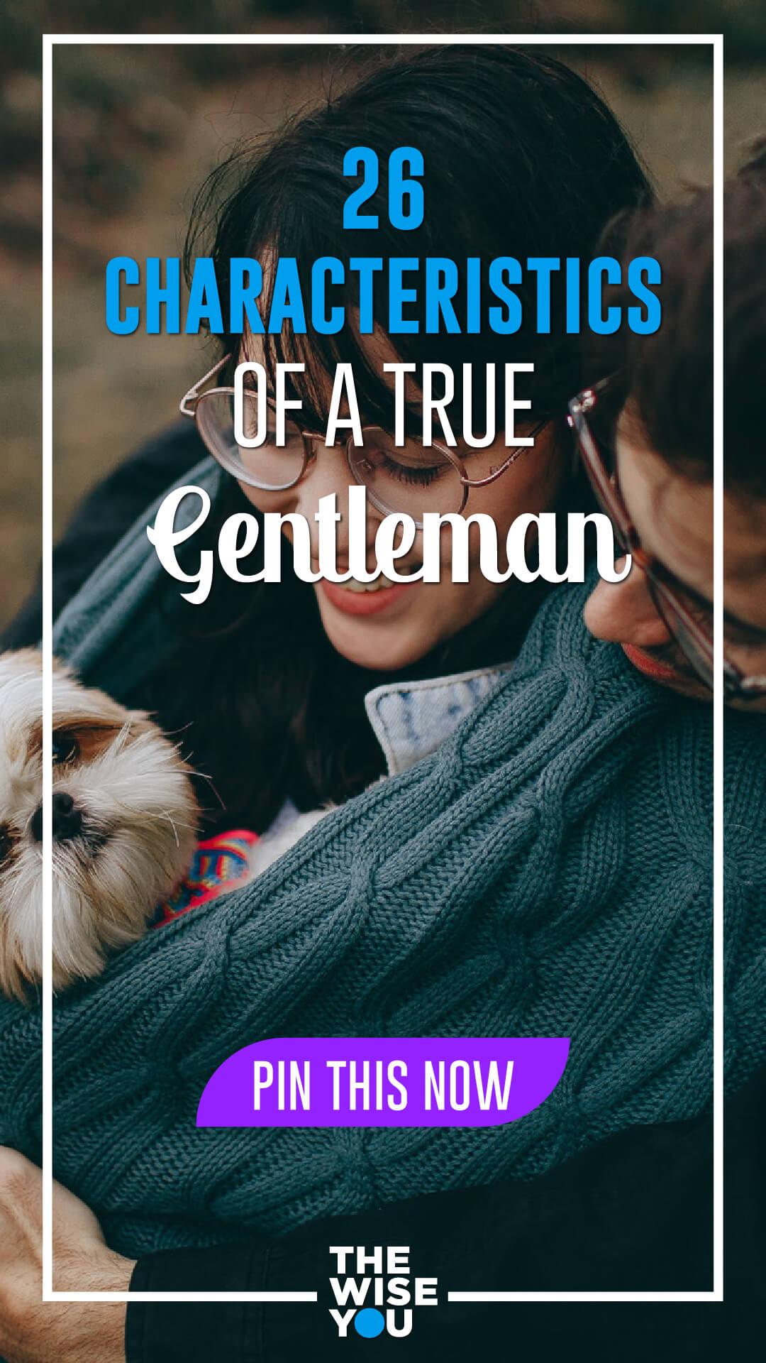 Characteristics of Gentleman