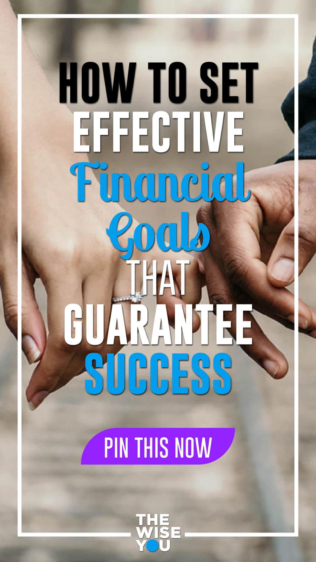 Effective Financial Goals